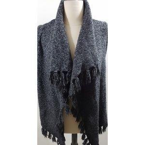 Kensie Gray Vest size L NWOT